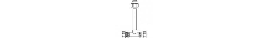 Háromjáratú fűtőtest-szelepek egycsöves rendszerekhez