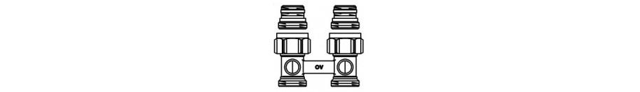 """Multiflex / """"Multimodul"""" fűtőtestszerelvények szelepes radiátorokhoz"""