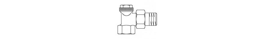 Combi 2 / 3 / 4 / LR visszatérőbe építhető fűtőtestszelepek