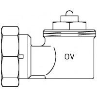 Sarokadapter szelepes fűtőtestekhez, M30 x 1,5-es menetes csatlakozáshoz
