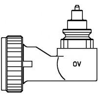 Sarokadapter szelepes fűtőtestekhez, szorítókötéses csatlakozáshoz