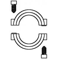 Lopás elleni védőbilincs, Uni XH, XHM, LH, DH és vindo TH termosztátokhoz, (készlet = 5 db)