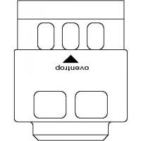 Védőburkolat blokkolás nélkül, Uni L típusú termosztátokhoz, fehér
