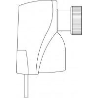Elektromotoros hajtómű, 24 V, 3 pontos szabályozással, M30 x 1,5