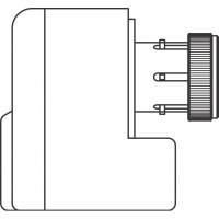 Elektromotoros hajtómű, 230 V, 2 pontos szabályozással, M30 x 1,5