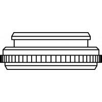Adapter a menetes csatlakozás, átalakítására M30 x 1,0-ről M30 x 1,5-re