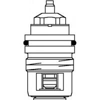 Szelepbetét AV 6 és RFV 6 típusú, M30 x 1,0 mm-es szelepekhez, DN10 - DN20, kv=0.65