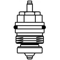 Szelepbetét A típusú, M30 x 1,0 mm-es, szelepekhez