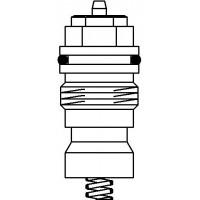 Szelepbetét F típusú, M30 x 1,0 mm-es, szelepekhez, DN10 - DN20, kv=0.32