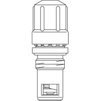 GD szelepbetét, 8 előbeállítási értékkel, szelepes fűtőtestekhez, üléktömítéssel