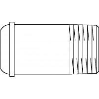 Hosszkiegyenlítő csavarzat (közepes), DN15, 43 mm