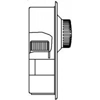 Unibox E plus padlófűt. szabályozóegység, visszatérő hőmérsékletkorlátozó, szeleppel, nemesacél, kv=0.52, kvs=0.75