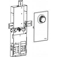 Szerelőcsatorna Unibox EA-hoz, acéllemezből, magasság: 440-490 mm, szélesség 160 mm