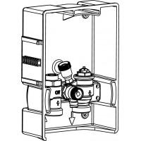 Unibox EBV padlófűtési szabályozóegység, bypass-szal, takarófedél nélkül