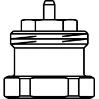 Szeleprudazat-hosszabbító Unibox-termosztatikus szelephez, 20 mm