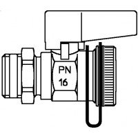 "Optiflex golyóscsap, DN 15, 1/2"" km, ivóvízre"