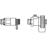3. számú tartozékkészlet = 1 db mérőszelep, 1 db töltő-ürítő golyóscsap, Hydrocontrolhoz