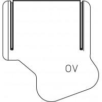 Formázott hőszigetelő héj szabályozó- és kombinált szelepekhez, DN10-DN15, -20°C - 100 °C-ig