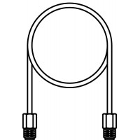 Impulzusvezeték, 2 m hosszú, Hycocon DTZ nyomáskülönbség szabályozóhoz