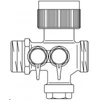 Cocon 2TZ szabályozó szelep hűtési rendszerre, DN15, km, classic-méréstechnika, kvs=0.45
