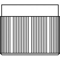 Műanyag védőkupak, M30 x 1,5