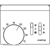 Szobatermosztát ventilátorvezérlővel, 230 V