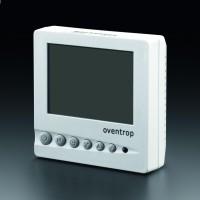 Digitális szobatermosztát ventilátorvezérlővel, 230 V