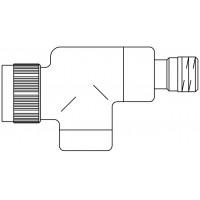 """E típusú termosztatikus szelep, PN10, DN15, 1/2"""", axiális, antracit, M30 x 1,5, kv=0.65, kvs=0.90"""