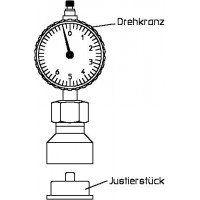Mérőkészülék F típusú szelepek, előbeállításának ellenőrzésére