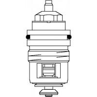 Szelepbetét ADV 6 típusú szelepekhez, DN10 - DN20, előbeállítással, kv=0.65