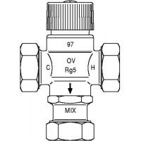 Brawa-Mix termosztatikus HMV-keverő, szelep, DN20, PN10, vörösöntvény, hollandi nélkül