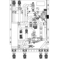 Regudis W-HT lakásfűtő készülék 15 l/perc, nikkel forrasztásos hőcserélővel
