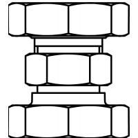 Csatlakozó csavarzat, Regumat-RTA-hoz, 2 db-os készletben