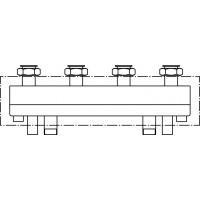 HydroFixx hidraulikus váltó / osztó, 2 fűtőkörre