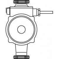 Fűtési keringtető-szivattyú, 130 mm, DN25, PN 10, 110°C, Grundfos ALPHA 2