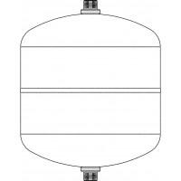 Szolár - előtét tartály, névleges térfogat: 12 l