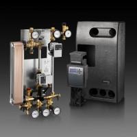 Regusol X Duo-25 hőközlő rendszer, 25 kW, Regtronic RX-B szabályozóval, Wilo Yonos szivattyúval