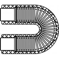 U-alakú ív vákuumcsöves kollektorokhoz