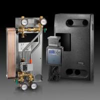 Regumaq X-30-B melegvízfűtésű, átfolyós rendszerű HMV-készítő készülék, nemesacél hőcserélővel