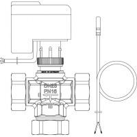 Regumaq tartozékkészlet, háromjáratú szelep, elektromotoros hajtómű éa tartályérzékelő