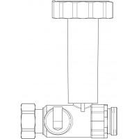 Golyóscsap Regumaq X/XZ-hez, szekunder köri hidegvíz cirkulációs ágba (tartalék)