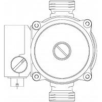 Keringtető szivattyú Regumaq X/XZ-hez, primerköri, Wilo RS 15/6-3