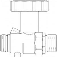 Golyóscsap Regumaq X/XZ-hez, primerköri előremenő ágba (tartalék)