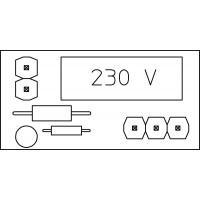 Tartozék, Pumpenlogik 230 V, szivattyúhoz
