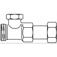 Combi 2 típusú visszatérő szelep, padlófűtési osztó-gyűjtőre szerelhető