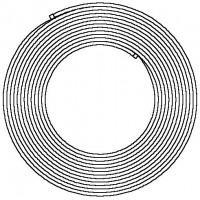 Copipe többrétegű cső tekercsben, tekercshossz: 100 m, 14 x 2.0 mm, fehér