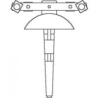 Hajlítószerszám, 14, 16, 18, 20 és 26 mm-es Copipe csőre