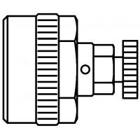 Nyomáspróba-dugó légtelenítővel, 16 x 2.0 mm-es Copipe-csövekhez, készlet = 10 db