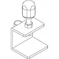 Asztali rögzítő, a 1519462 sz. csősimító szerszámhoz