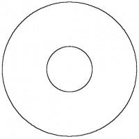 Tömítőgyűrű vörösöntvény szelepekhez, DN80, PTFE